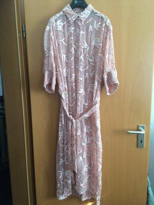 Lange Blusen-Kleid