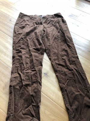 s.Oliver Corduroy Trousers brown