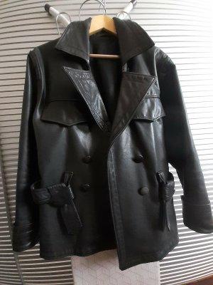 Easy Rider Veste motard noir cuir