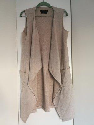 lange Damen Weste Strickweste OPUS Gr. 36/S