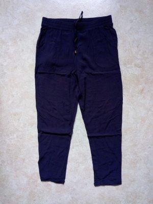 Colloseum Pantalone a 7/8 blu scuro Viscosa