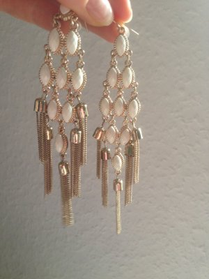 H&M Gold Earring gold-colored-white