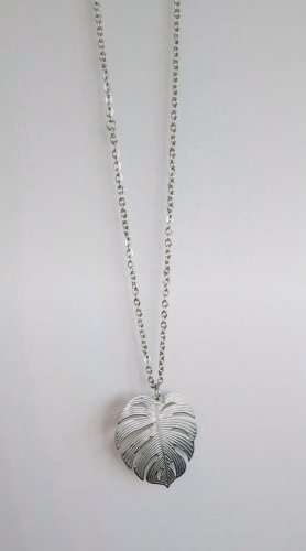 handmade Link Chain silver-colored