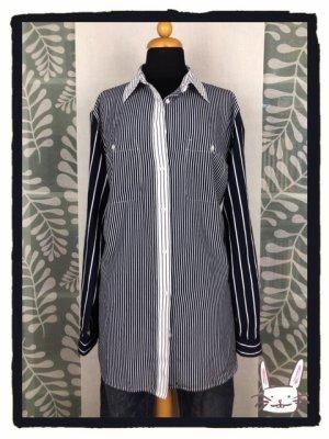 Lange Hemdbluse mit Streifenmix von Lauren Ralph Lauren