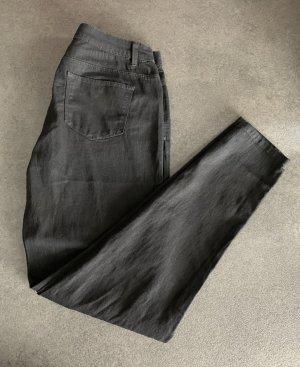 Denim Co. Drainpipe Trousers black