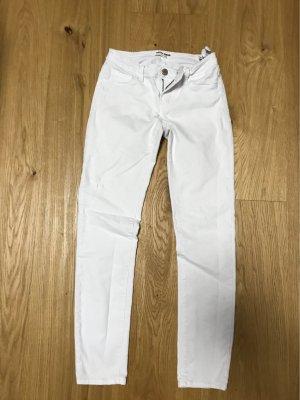 Tally Weijl Spodnie Capri biały