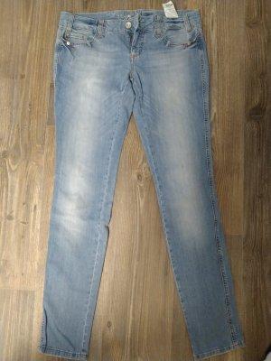 Mogul Pantalone a vita bassa azzurro