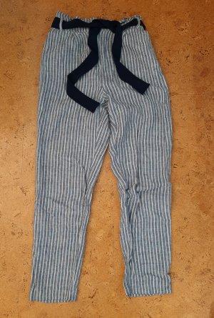 Vila Jersey Pants white-blue