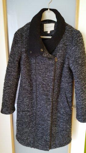 Esprit Wool Jacket dark grey mixture fibre