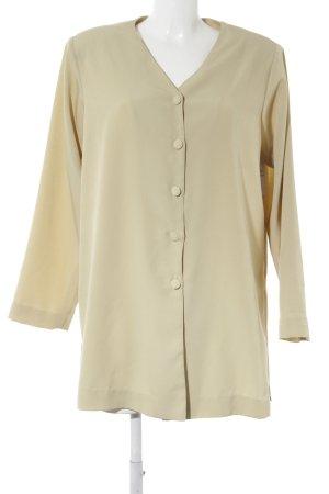Lange Jacke blassgrün Casual-Look