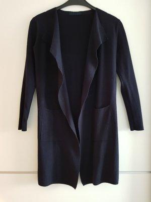 Gebreide jas donkerblauw