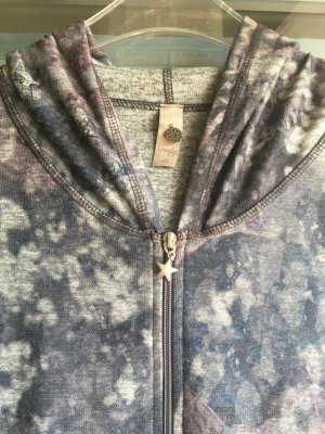 Lange Jacke mit Kapuze tailliert