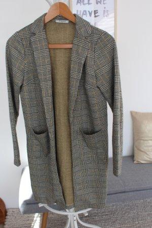 Pieces Wool Jacket multicolored polyacrylic
