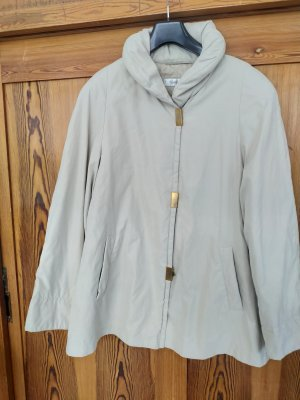 Lange Jacke, schlicht, gefüttert, Übergangsjacke