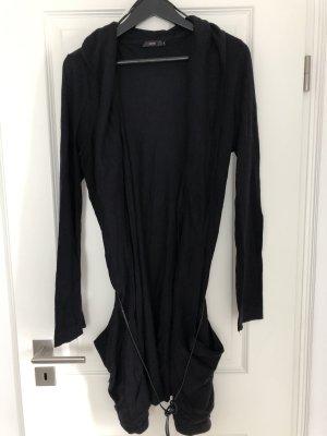 Lange Jacke von ZERO , schwarz  , Gr.44