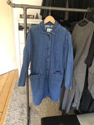 Lange Jeansjacke / Jeansmantel, Work Wear Style
