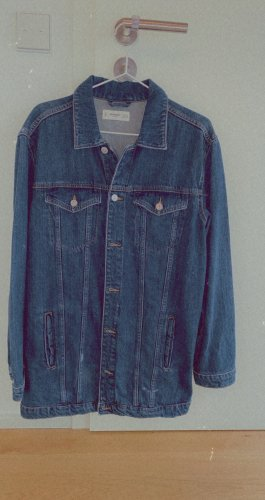 Lange Jeansjacke MANGO