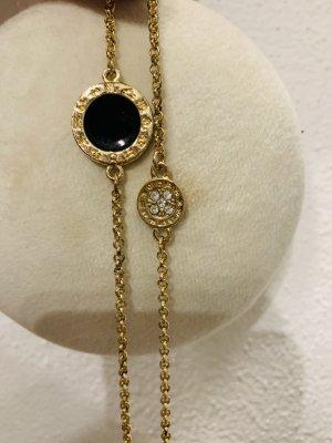 Łańcuch czarny-złoto