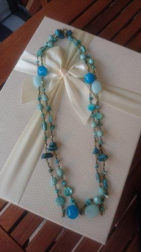 unbekannte Necklace blue-turquoise