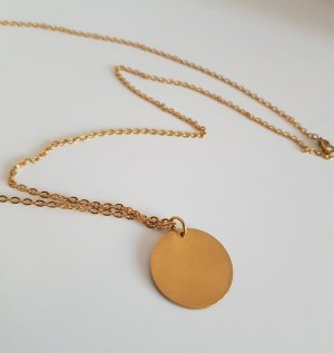 Hand made Chaîne en or doré