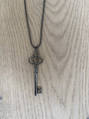 Necklace anthracite