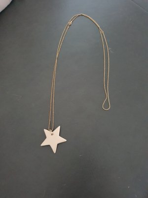 no name Necklace gold-colored