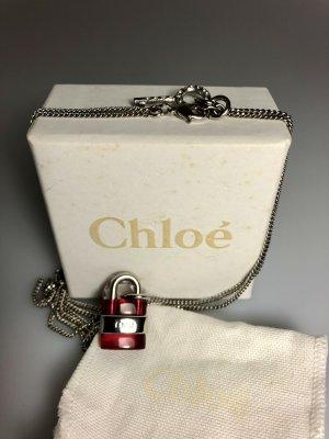 Chloé Necklace silver-colored-purple