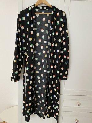 İnsirah Chemisier kimono noir-blanc