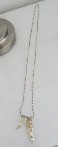 echt Silber 925 Chaîne en or argenté-doré