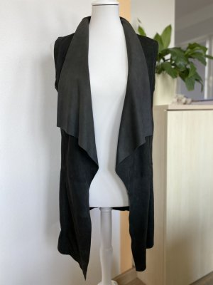 Mauritius Leather Vest black leather