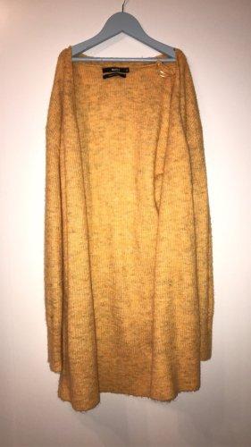 Bik Bok Cardigan lungo smanicato arancione chiaro