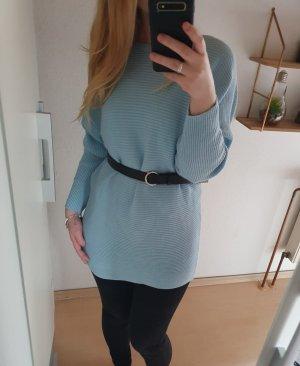 H&M Pull oversize bleu clair