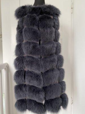 Amor&Grace Fur vest grey pelt