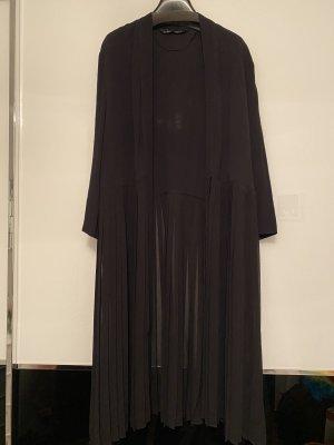 Lange plisse Bluse