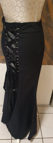 Chic Star Falda asimétrica negro