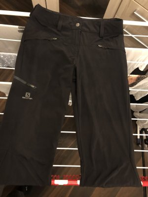Salomon Pantalone da ginnastica grigio scuro