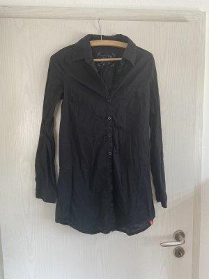 Lange schwarze Bluse von edc