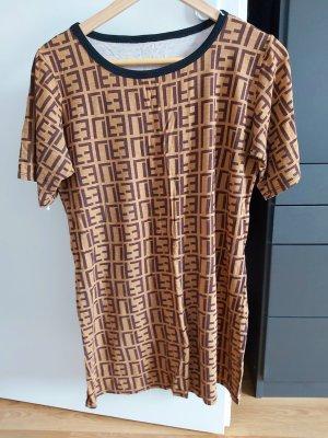 Vestido estilo camisa marrón arena-marrón