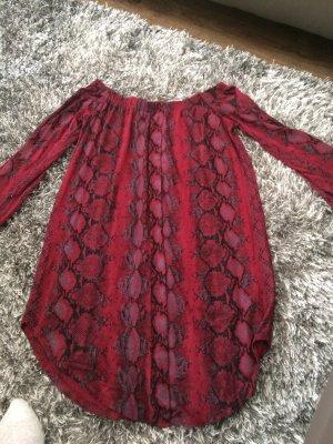 Carli Bybel x Missguided Carmen Shirt multicolored viscose