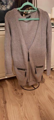 Gina Benotti Veste tricotée en grosses mailles gris clair