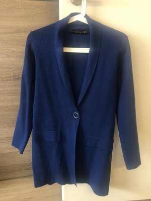 Lange Strickjacke blau Reserved