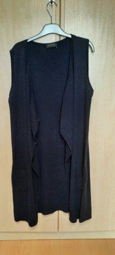 Apanage Short Sleeve Knitted Jacket dark blue