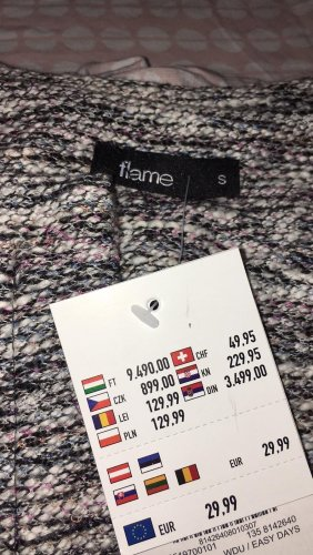 -lange Strickjacke