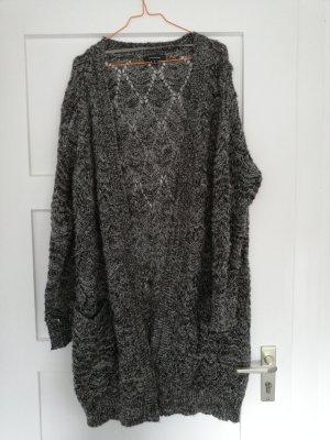 Atmosphere Veste tricotée en grosses mailles gris brun