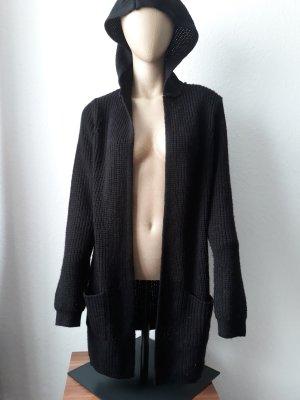 Fb Sisters Płaszcz z dzianiny czarny