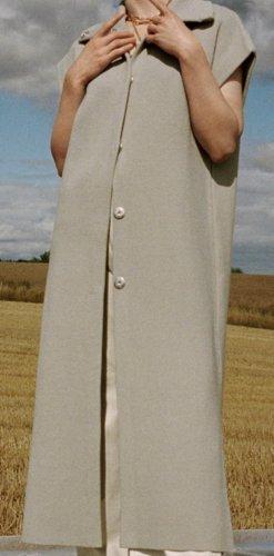 Lange Strickweste von Zara