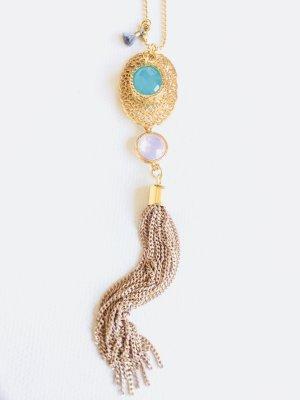Lange Tassel-Kugelkette • Boho Style