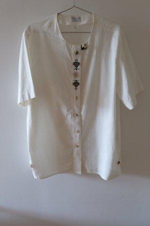 Imperial Blusa tradizionale bianco sporco Cotone