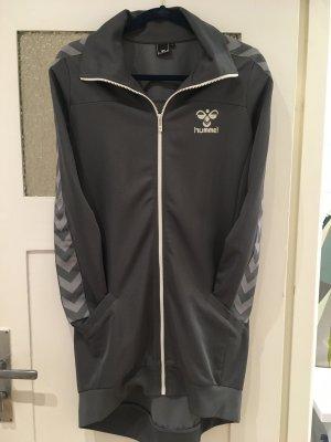 Hummel Veste de sport gris polyester