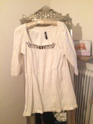 Takko Camicetta a blusa bianco-oro